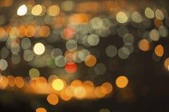 De achtergrond van kleurenlichten Stock Foto's