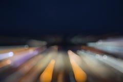 De achtergrond van kleurenlichten Stock Fotografie