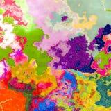 De achtergrond van kleurenplonsen royalty-vrije illustratie