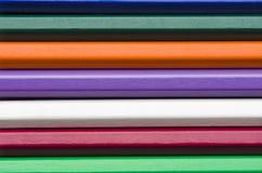 De achtergrond van kleurenpotloden Royalty-vrije Stock Foto