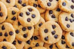 De achtergrond van koekjes Stock Foto