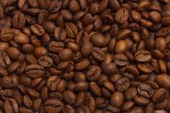 De Achtergrond van koffiebonen Royalty-vrije Stock Afbeelding