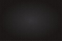 De achtergrond van de koolstofvezel, zwarte textuur Royalty-vrije Stock Afbeelding
