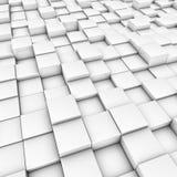 De achtergrond van kubussen Stock Afbeelding