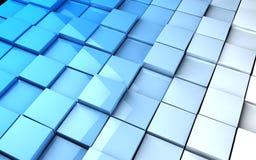 De achtergrond van kubussen Stock Foto's