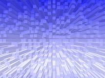 De achtergrond van kubussen royalty-vrije illustratie