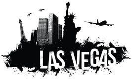 De Achtergrond van Las Vegas stock illustratie