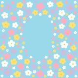 De achtergrond van de de lentepastelkleur Stock Foto