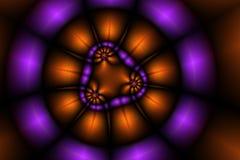 De achtergrond van lichten Stock Afbeelding