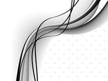 De achtergrond van lijnen, vector Stock Foto