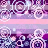 Lilas grunge achtergrond (vector) Royalty-vrije Stock Fotografie