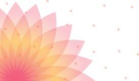 De achtergrond van Lotus Royalty-vrije Stock Afbeelding