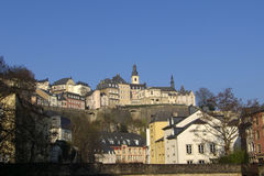 De Achtergrond van Luxemburg Royalty-vrije Stock Afbeelding