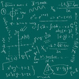 De achtergrond van Math Royalty-vrije Stock Afbeelding