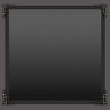 De achtergrond van metaalhoeken Royalty-vrije Stock Foto's