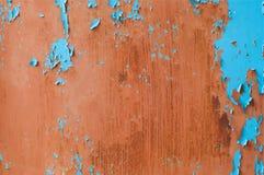 De achtergrond van de metaalroest, grunge roest en corrosie achtergrondtextuur royalty-vrije stock fotografie