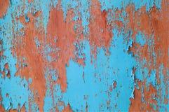 De achtergrond van de metaalroest, grunge roest en corrosie achtergrondtextuur stock foto's
