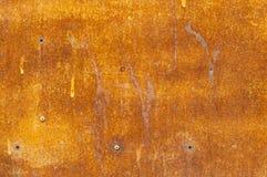 De achtergrond van de metaalroest, grunge roest en corrosie achtergrondtextuur stock fotografie
