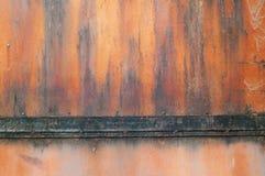 De achtergrond van de metaalroest, grunge roest en corrosie achtergrondtextuur royalty-vrije stock afbeelding