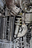 De achtergrond van metaaltoestellen Stock Fotografie