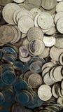 De achtergrond van muntstukkenvenezuela Stock Foto's