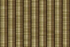 De Achtergrond van muntstukstapels Royalty-vrije Stock Afbeeldingen