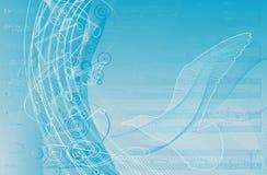 De achtergrond van Musica Stock Afbeelding