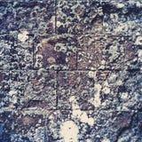 De achtergrond van de de muurtextuur van de steen Donkere muurtextuur Stock Afbeelding