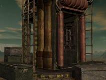 De Achtergrond van mysticus sc.i-FI Royalty-vrije Stock Afbeeldingen