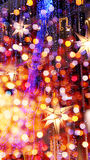 De Achtergrond van neonlichten royalty-vrije stock foto's