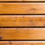 De achtergrond van nieuwe houten pijnboom plande geoli?d hout Royalty-vrije Stock Fotografie