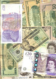 De achtergrond van nota's Royalty-vrije Stock Foto