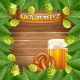 De achtergrond van Oktoberfest Stock Fotografie