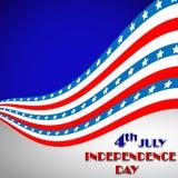 De achtergrond van de onafhankelijkheid Day Royalty-vrije Stock Foto