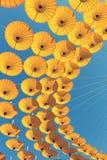 De Achtergrond van de parapluhemel Royalty-vrije Stock Afbeeldingen