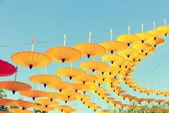 De Achtergrond van de parapluhemel Stock Fotografie