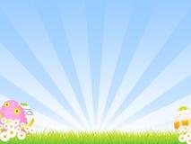 De Achtergrond van Pasen Stock Foto