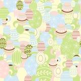 De achtergrond van Pasen, vector Stock Afbeelding