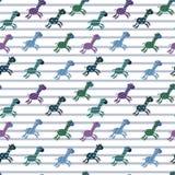 De achtergrond van de patroongiraf Stock Foto