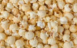 De achtergrond van de popcorntextuur stock fotografie