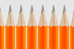 De achtergrond van potloden Stock Foto's