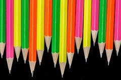 De achtergrond van potloden Royalty-vrije Stock Afbeelding