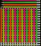 De achtergrond van potloden Stock Fotografie