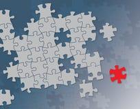 De achtergrond van raadsels Vector Illustratie