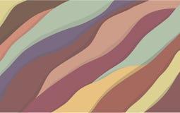 De achtergrond van regenboogbergen royalty-vrije illustratie