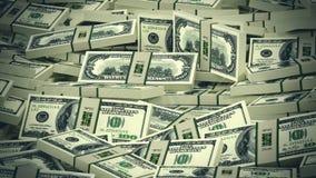 De Achtergrond van de Rekeningen van de dollar stock illustratie