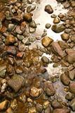 De achtergrond van rotsen Stock Fotografie