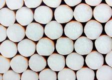De achtergrond van sigaretten Stock Foto