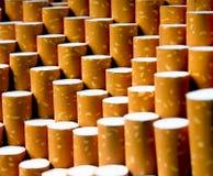 De achtergrond van sigaretten Stock Afbeeldingen