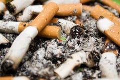 De achtergrond van sigaretten Royalty-vrije Stock Fotografie